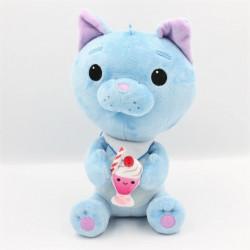 Peluche chat bleu Milk shake Les mondes de Ralph 2 Disney Store