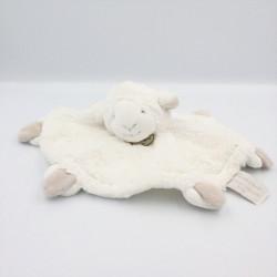 Doudou et compagnie plat mouton blanc gris