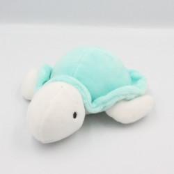 Doudou tortue blanc vert DODIE
