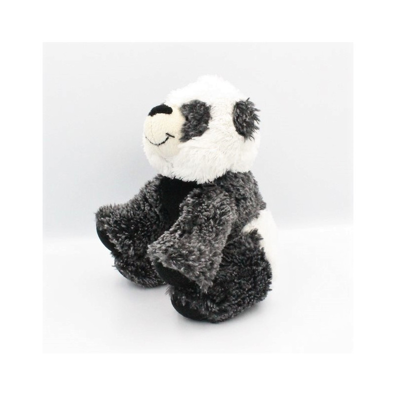 Doudou panda blanc noir NATURE COLLECTION