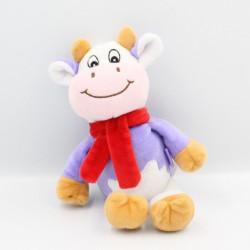 Doudou vache violet mauve...