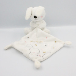 Doudou lapin blanc doré mouchoir Good Night SIMBA TOYS KIABI