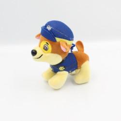 Doudou peluche porte clef chien bleu Pat Patrouille Paw Patrol