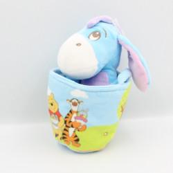 Doudou Bourriquet dans un sac panier Disney Nicotoy