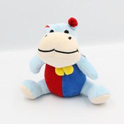 Doudou hippopotame bleu...