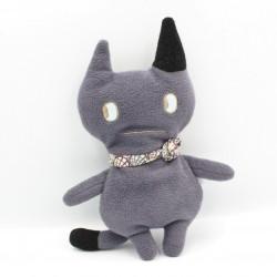 Doudou chat gris noir TROUSSELIER
