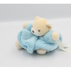 Doudou petit ours Plume bleu ciel KALOO