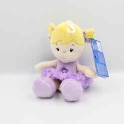 Doudou poupée mauve violet TOY'S RUS