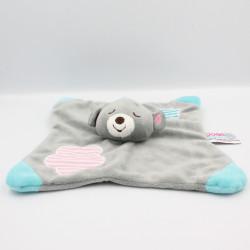 Doudou plat koala ours gris...