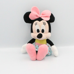 Doudou peluche Minnie rose...