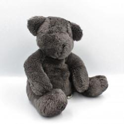 Doudou ours gris noir DPAM DU PAREIL AU MEME