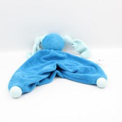 Doudou plat lapin bleu PEPPA