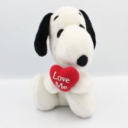 Ancienne Peluche chien Snoopy coeur Année 1958 -1968
