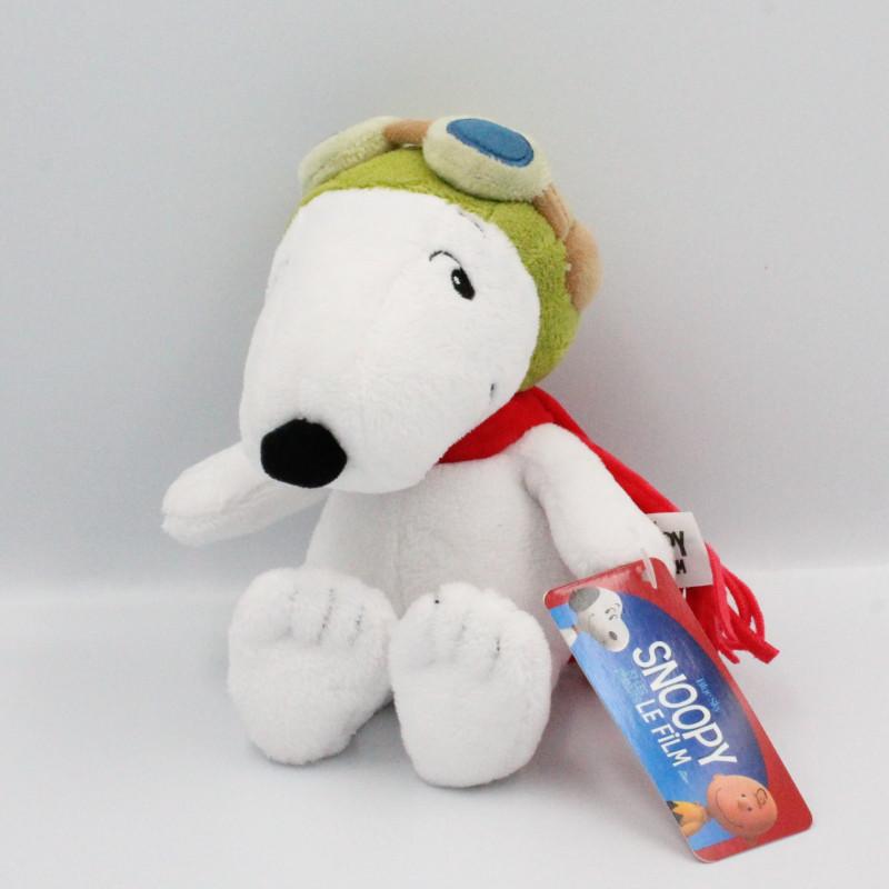 Peluche chien Snoopy et les Peanuts Le Film Aviateur Gipsy