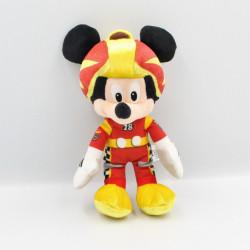 Peluche Mickey pilote de Formule 1 DISNEY NICOTOY