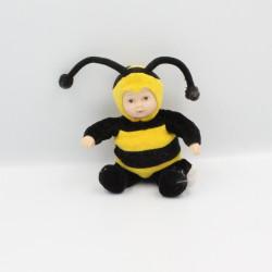 Petite Poupée abeille jaune noir ANNE GEDDES