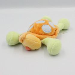 Doudou tortue orange vert bleu JOLLYBABY