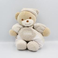 Doudou ours ecru beige blanc TAKINOU