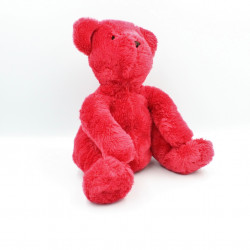 Doudou ours rouge DPAM DU PAREIL AU MEME