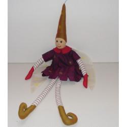 Poupée elfe magicienne L'OISEAU BATEAU
