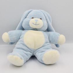Doudou lapin bleu blanc GIPSY