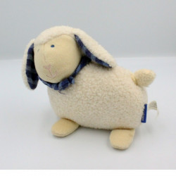 Doudou musical mouton blanc RAVENSBURGER