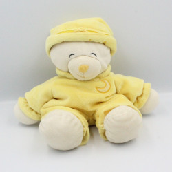 Doudou ours Baby Bear jaune lune GIPSY