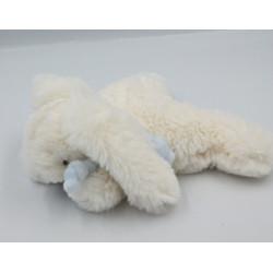 Doudou et compagnie lapin blanc bleu Bonbon Avent
