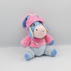 Doudou Bourriquet lapin rose DISNEY NICOTOY
