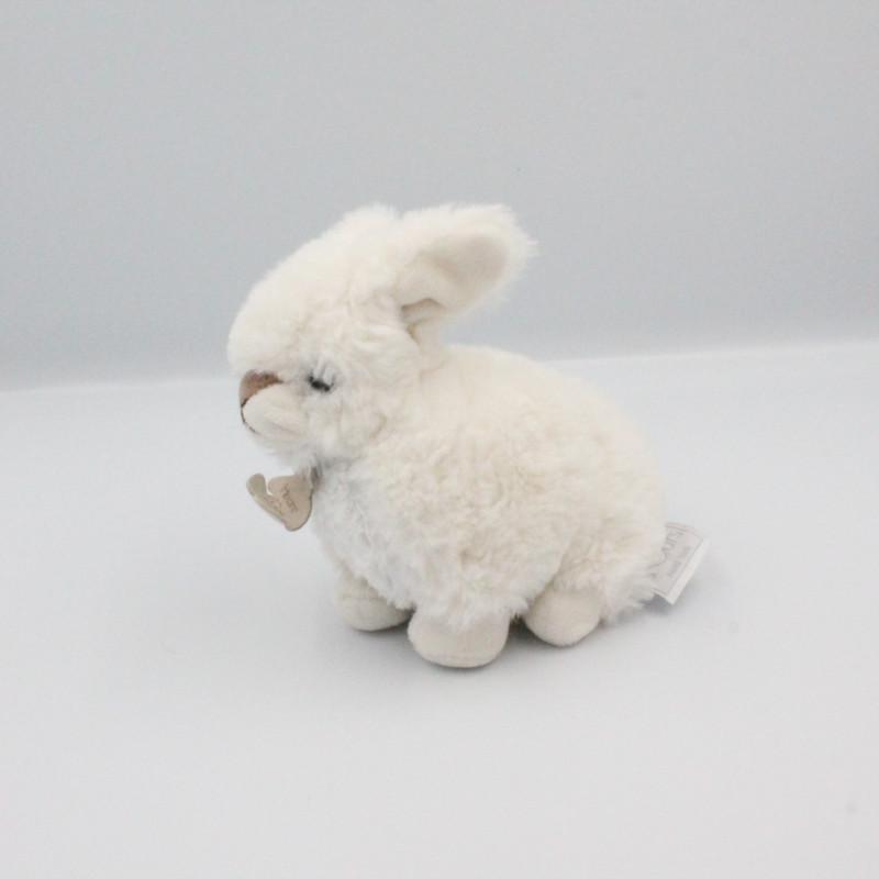 Doudou lapin blanc HISTOIRE D'OURS