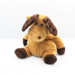 Doudou renne élan cerf beige marron LASCAR