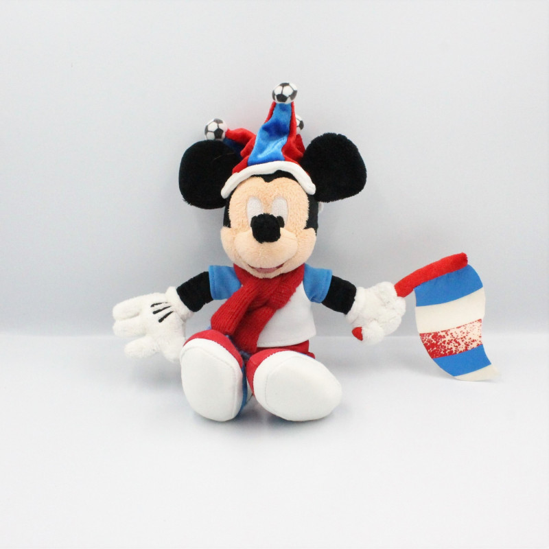 Peluche Mickey supporter de Football DISNEYLAND