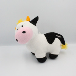 Doudou vache Paquita blanche noir FIZZY
