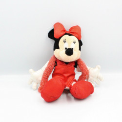 Peluche Minnie robe rouge Cabaret DISNEYLAND