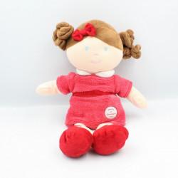 Doudou et compagnie poupée fille rose Mlle Framboise Les Demoiselles