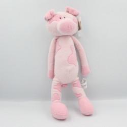 Doudou cochon rose MAXITA