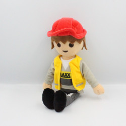 Doudou peluche Playmobil Ouvrier PLAY BY PLAY
