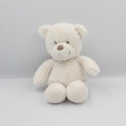 Doudou ours blanc TEX POMMETTE