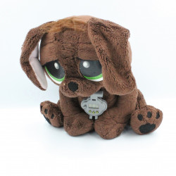 Peluche électronique chien marron RESCUE PETS WAKE ME UP