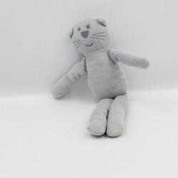 Doudou chat gris BOUT'CHOU BOUTCHOU
