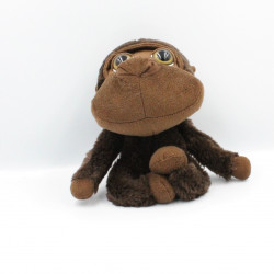 Peluche singe marron Collection Big Headz