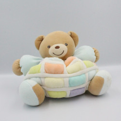 Doudou Ours patapouf Candy Candies patchworks KALOO