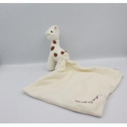 Doudou sophie la girafe mouchoir VULLI