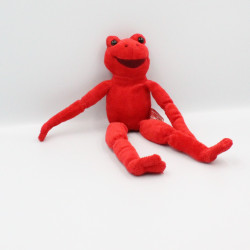 Doudou grenouille rouge CARCEIS