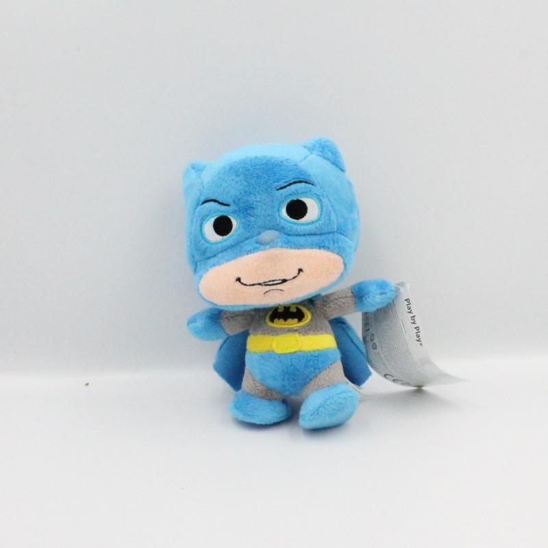 Doudou peluche Batman bleu Comics Little Mates Play by Play