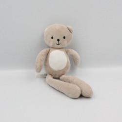Doudou ours beige blanc SIMBA TOYS