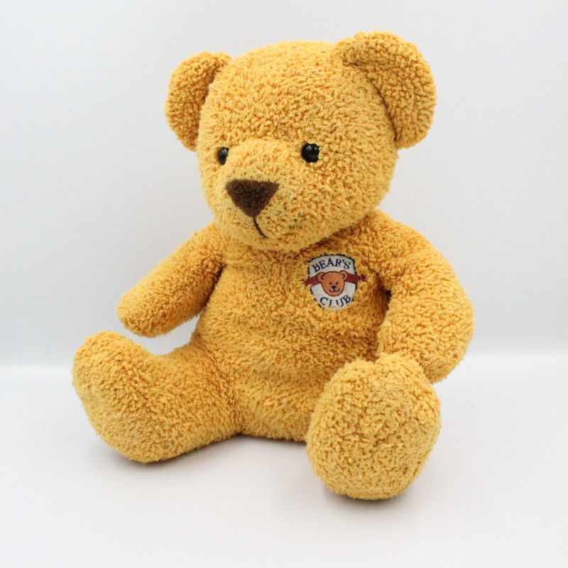 Doudou ours beige Bear's Club NICOTOY