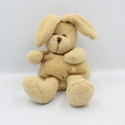 Doudou marionnette lapin beige SUNKID
