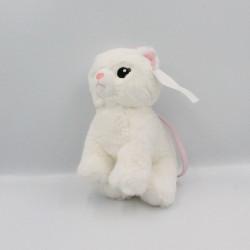 Doudou sac chat blanc rose H&M