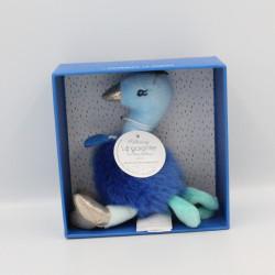 Doudou et compagnie paon bleu Les Minizoo